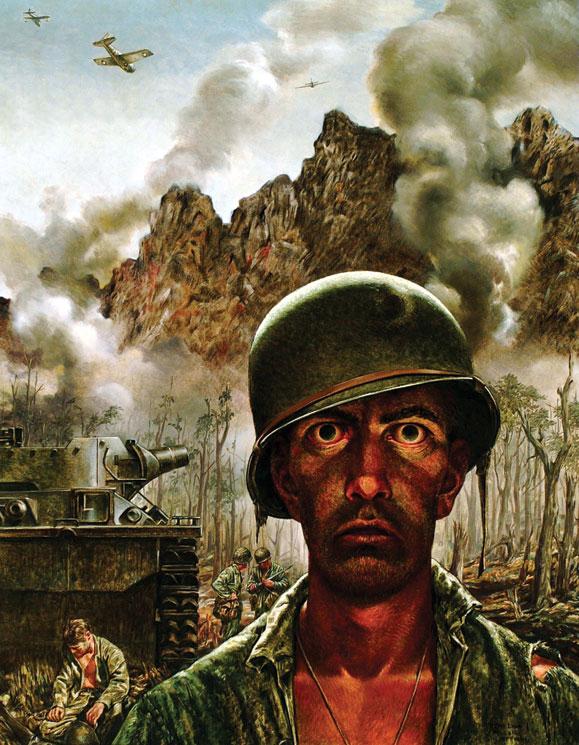 "Tom Lea, ""That 2,000-Yard Stare"" (1944)"