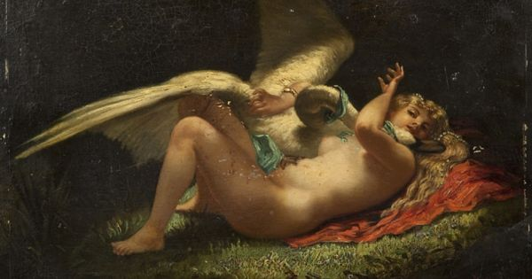 "Eliza Joinville, ""Leda and the Swan"""