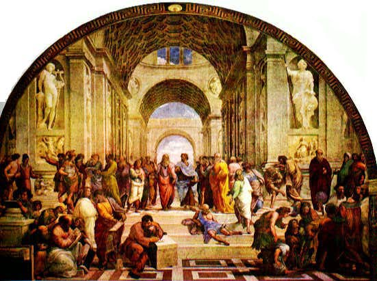 "Rafael Sanzio, ""School of Athens"""