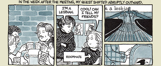 "Alison Bechdel, scene from ""Fun Home"""