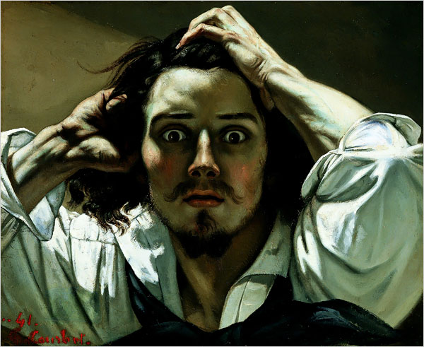 "Gustave Courbet, ""The Desperate Man"""