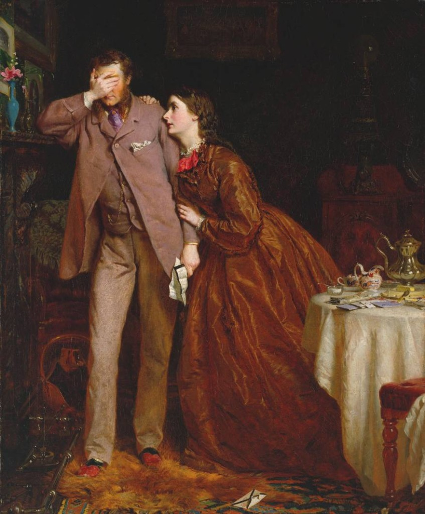 "George Elgar Hicks, ""Woman's Mission: Companion of Manhood"" (1863)"