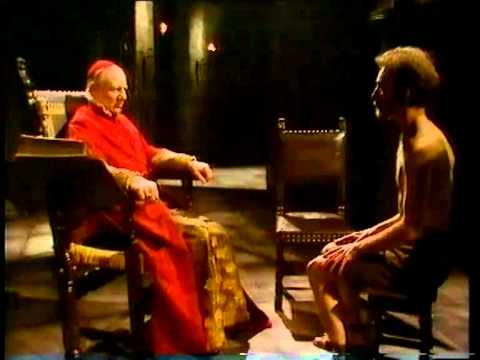 John Gielgud as the Grand Inquisitor