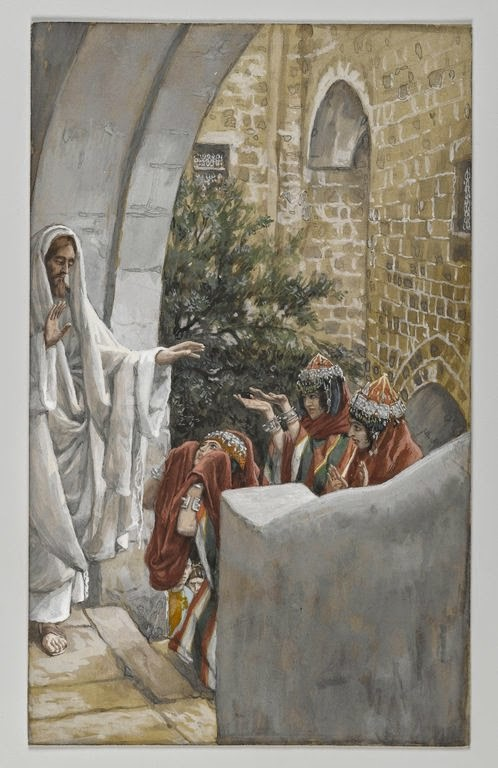 """James Tissot, """"Jesus and the Canaanite Woman"""""""