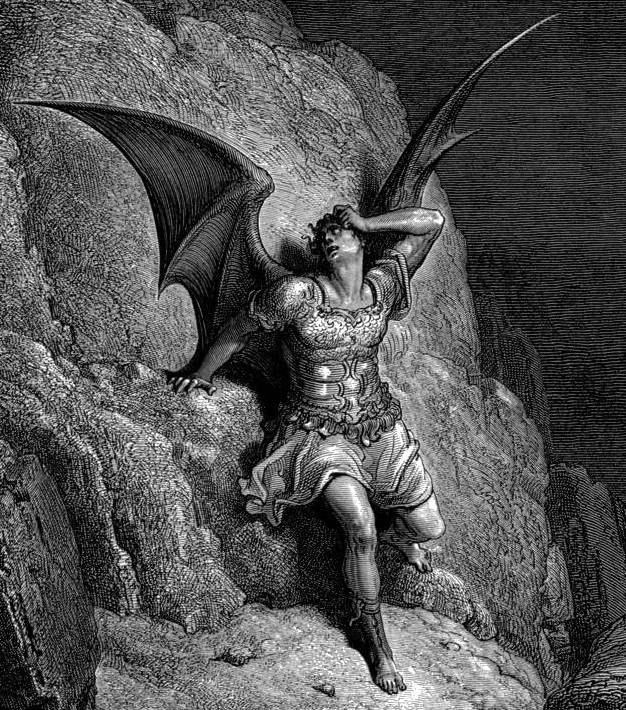 "Gustave Dore, Satan in ""Paradise Lost"""