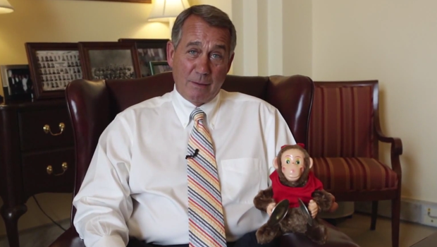 John Boehner and friend
