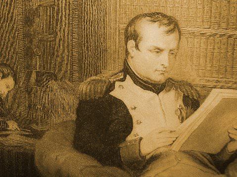 """""""Napoleon Reading"""""""