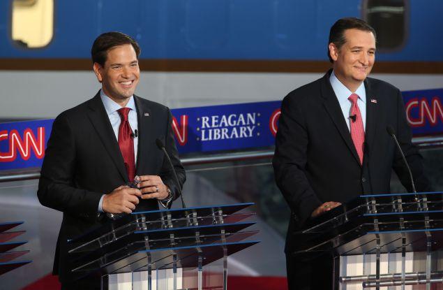 Rubio and Cruz, perhaps the winners of Wednesday's debate