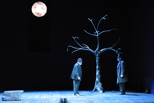 "Scene from ""Waiting for Godot"""