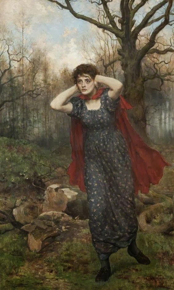 "John Collier, ""Hetty Sorrel"" (from ""Adam Bede"")"