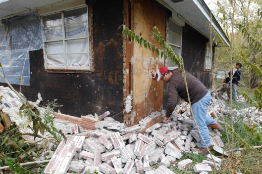 Oklahoma house hit by successive earthquakes this past weekend