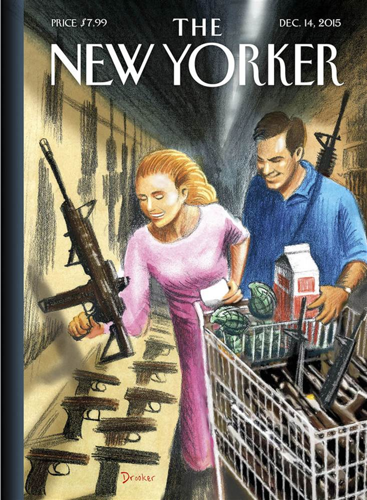 New Yorker cover 12-14-15