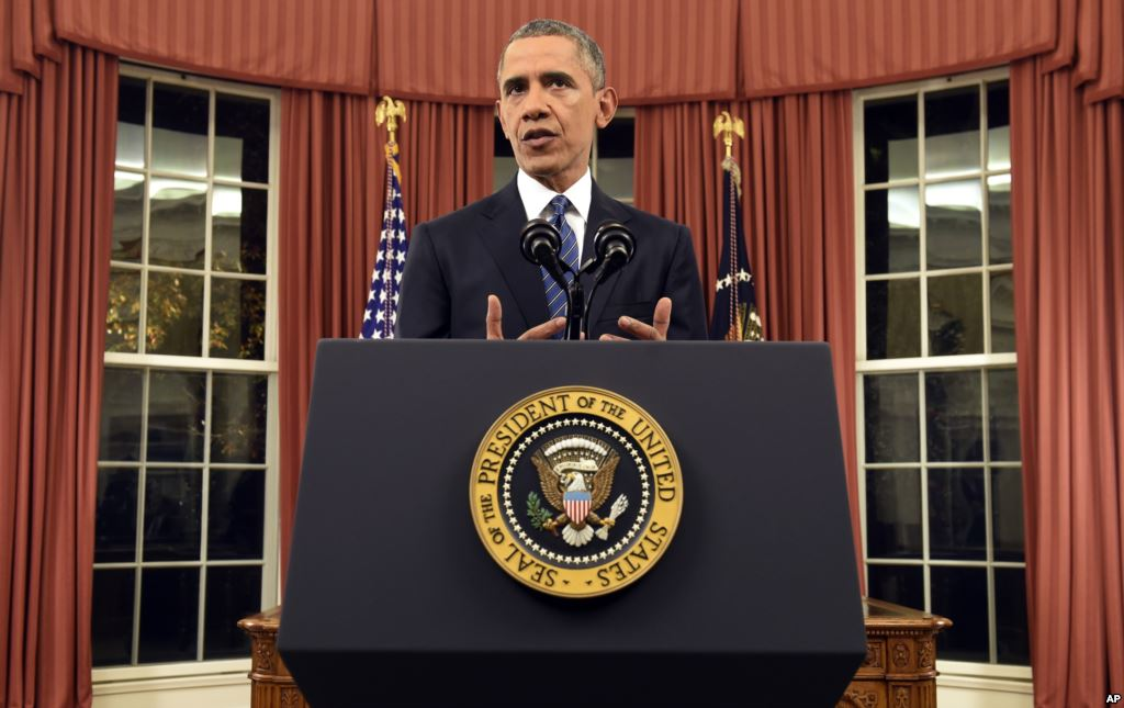 Obama addressing the country on Jihadist terrorism