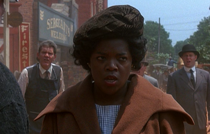 "Oprah as Sofia in ""The Color Purple"""
