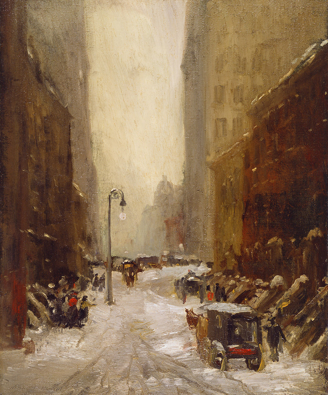 "Robert Henri, ""Snow in New York"" (1902)"
