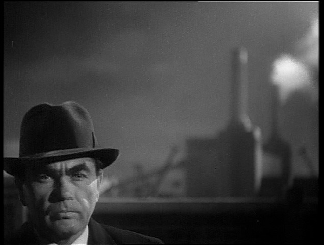"Oskar Homolka as Verloc in Hitchcock's ""Sabotage"" (""The Secret Agent"")"