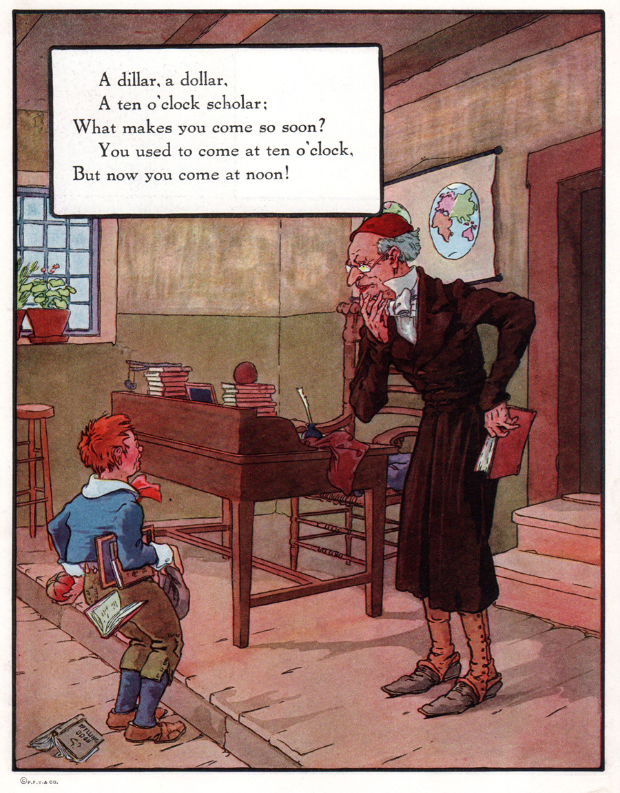 "Frederick Richardson, illus. from ""Mother Goose"""
