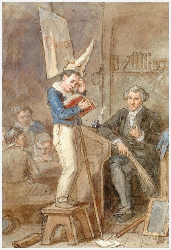 "John Masey Wright, ""The Dunce"""