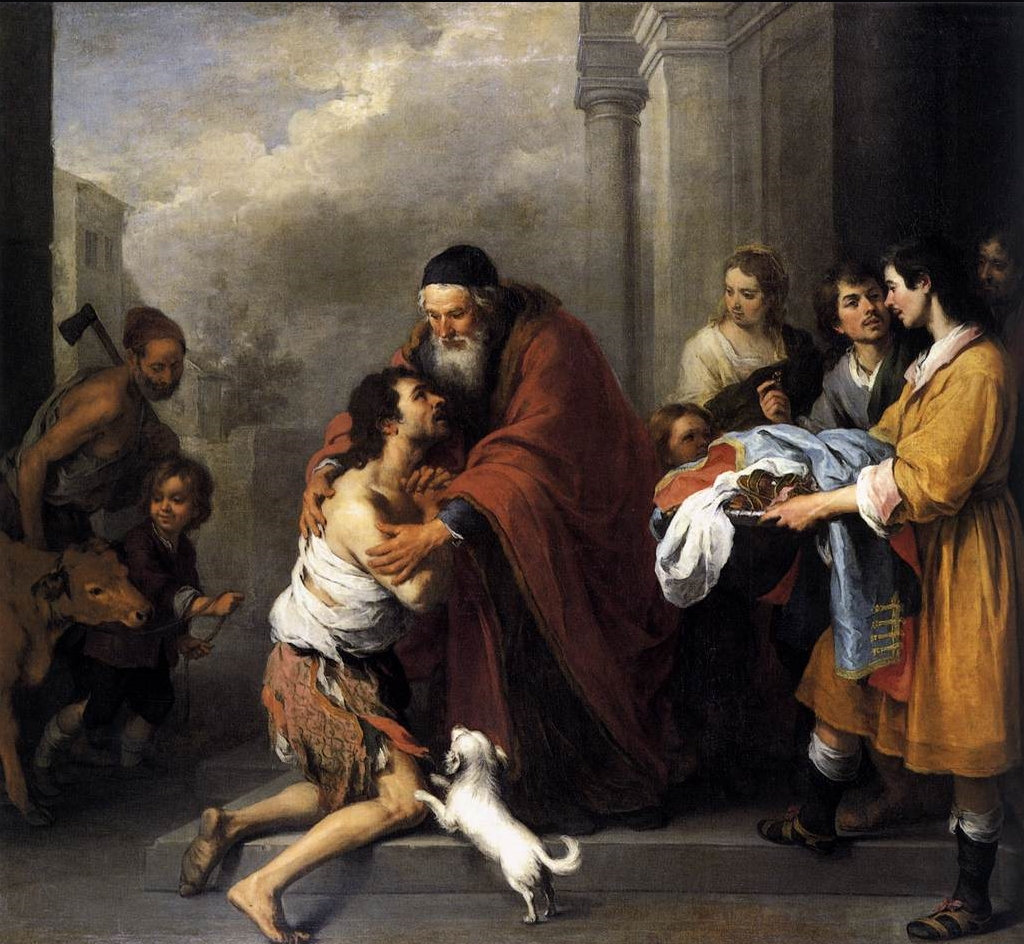 "Bartolomé Esteban Murillo, ""Return of the Prodigal Son"""