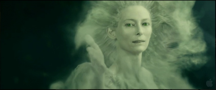 "Swinton as the White Witch, ""Prince Caspian"""