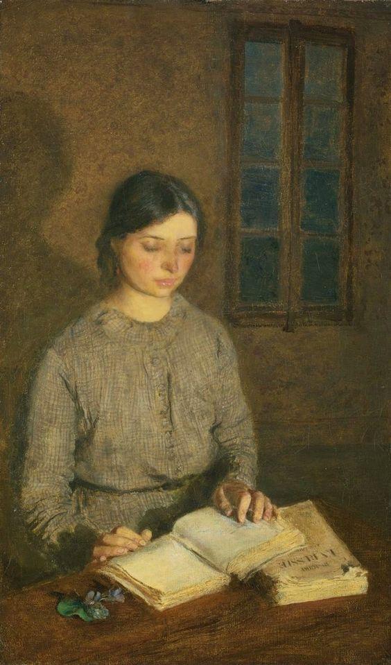 "Gwen John, ""Dorelia by Lamplight, at Toulouse"""