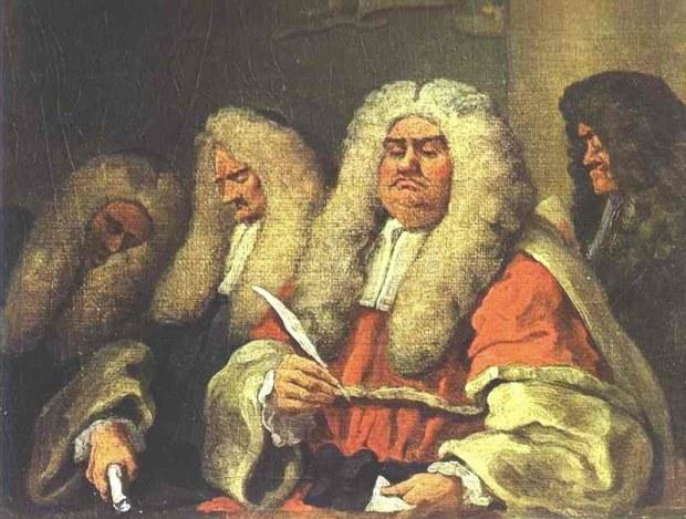 """William Hogarth, """"The Judges"""""""