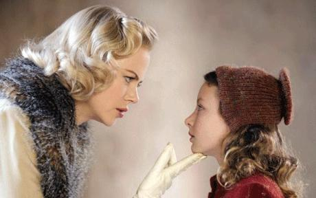 "Kidman and Richards in ""the Golden Compass"""