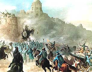 "Kirpal Singh, ""Storming a Castle"""