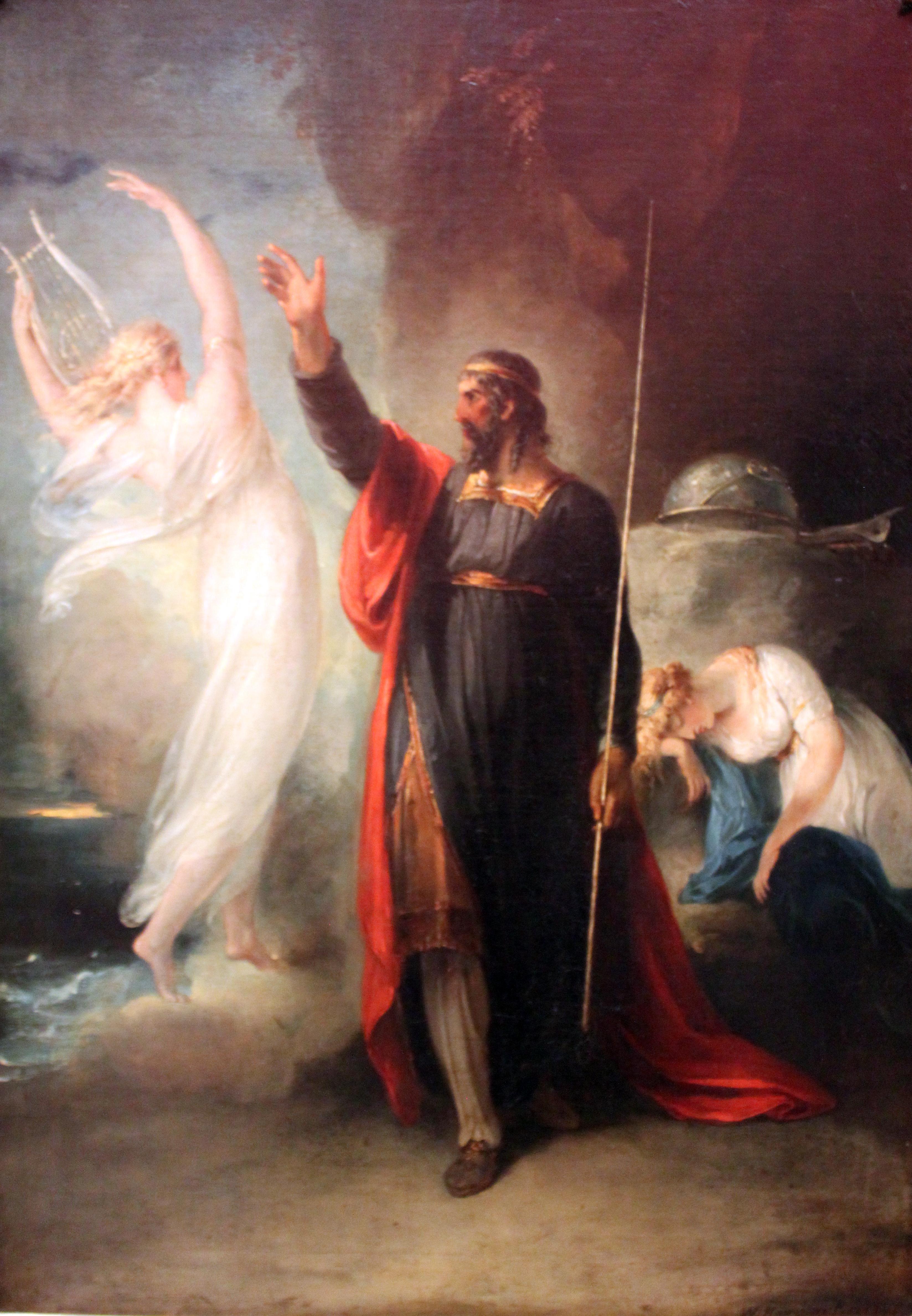 """William Hamilton, """"Prospero and Ariel"""""""