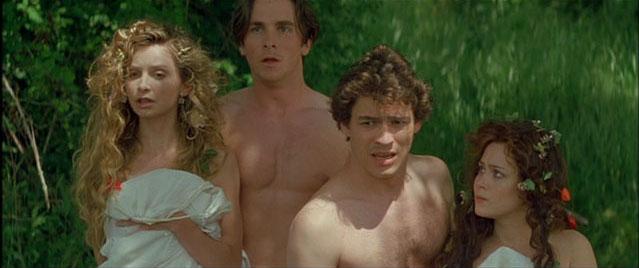 """Flockhart, Friell, Bale, West in """"Midsummer Night's Dream"""""""