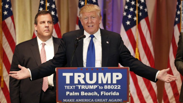 Christie and Trump