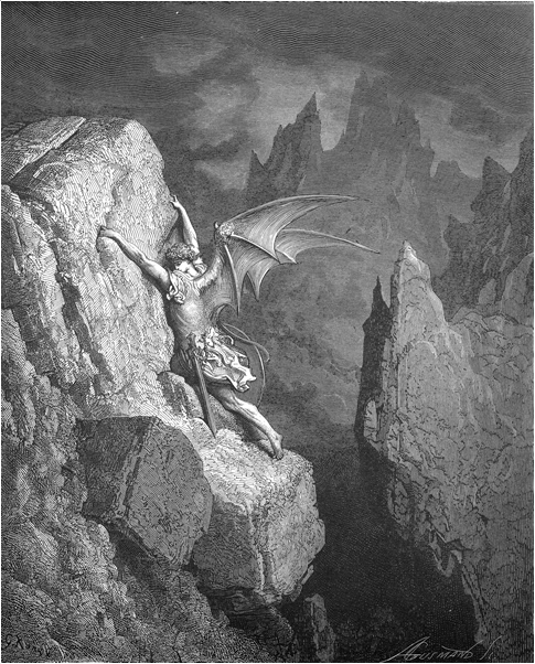 Gustave Doré, Satan in the Abyss