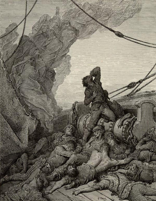 "Gustave Doré, ""Rime of the Ancient Mariner"""