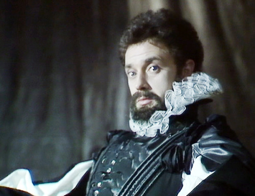 "Michael Kitchen as Edmund in BBC ""King Lear"""