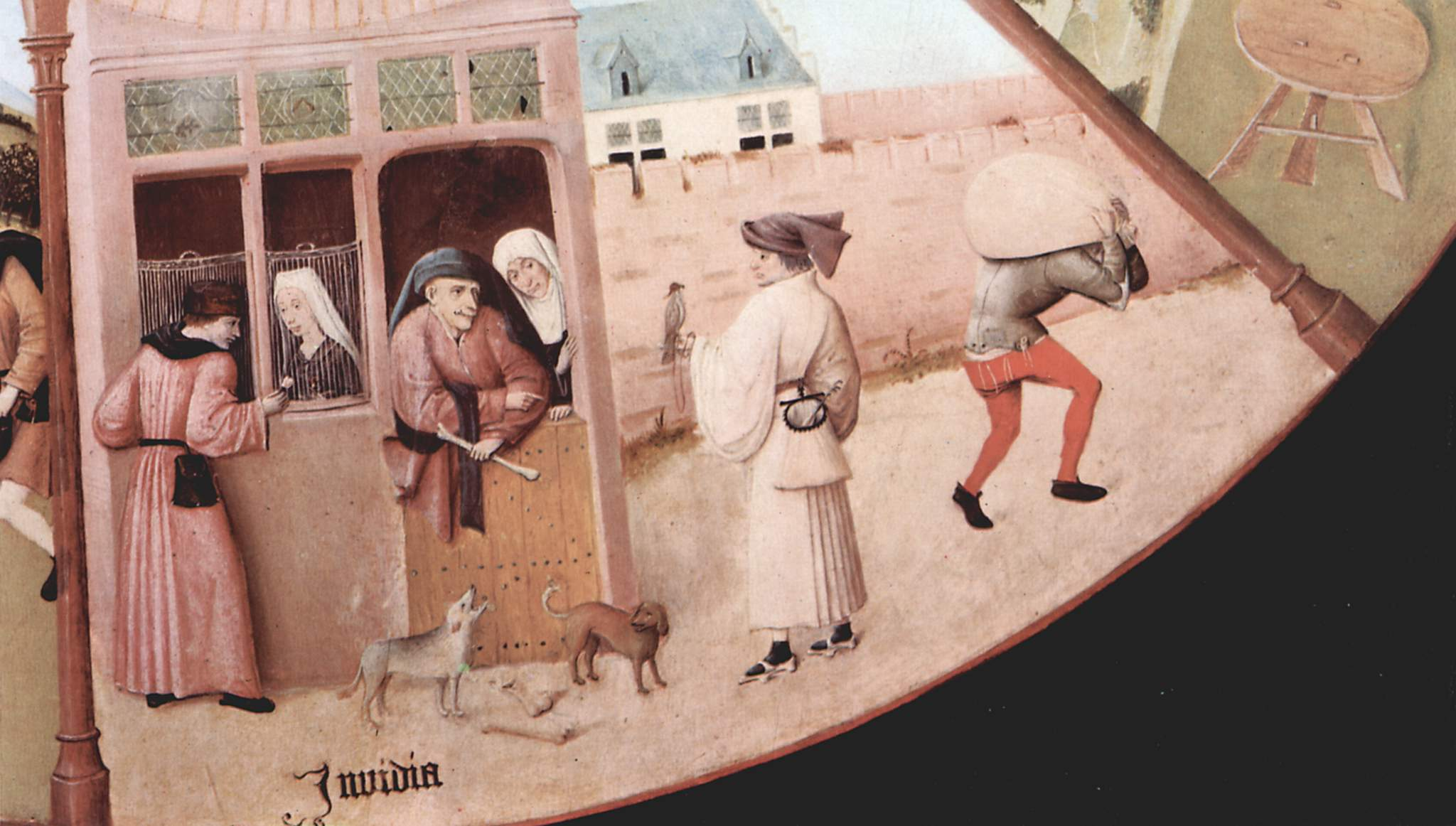 "Hieronymus Bosch, ""Envy"""