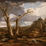 "Washington Allston, ""Elijah in the Desert"""