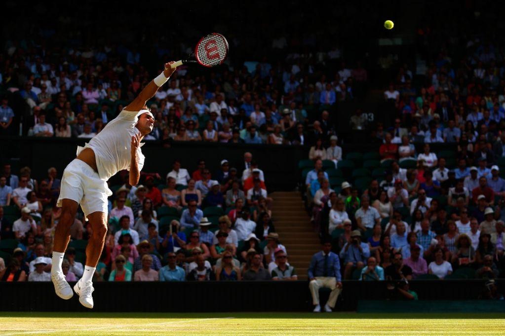 Federer at Wimbledon