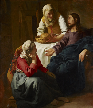 "Vermeer, ""Christ in the House of Mary and Martha"""