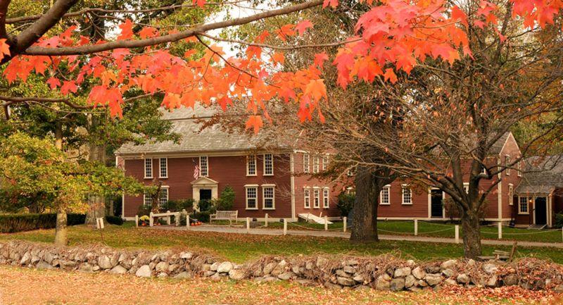 Wayside Inn, in Sudbury, Massachusetts