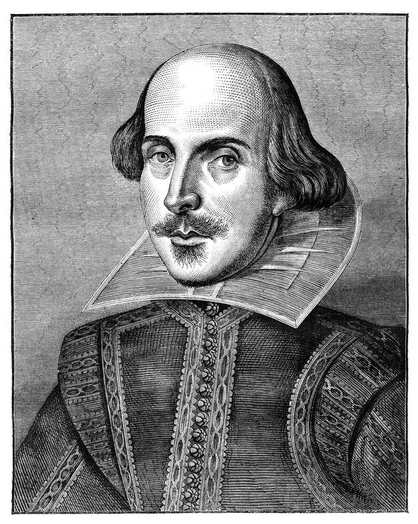 William Shakespeare, the man and the author of Shakespeare's plays