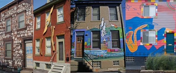 House Poem, House Permutation, Pittsburgh-Burma House, and Jazz House