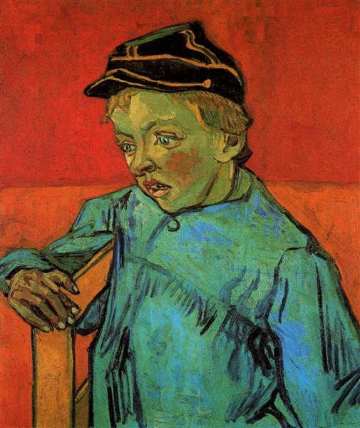"Vincent van Gogh, ""The Schoolboy (Camille Roulin),"" 1888"