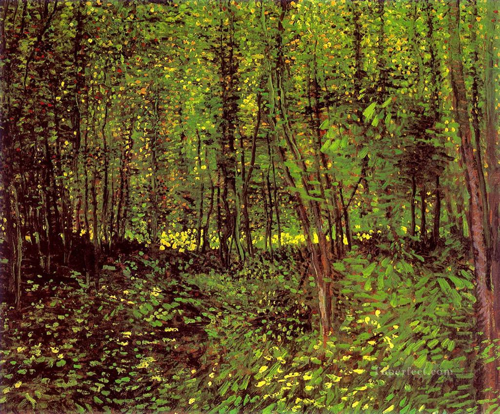 "Vincent Van Gogh, ""Trees and Undergrowth"""