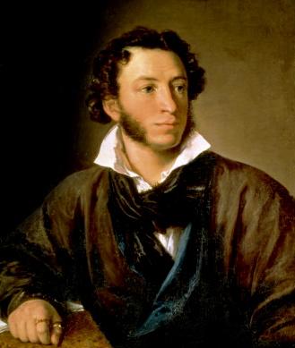 "Vasily Tropinin, ""Alexander Pushkin"""
