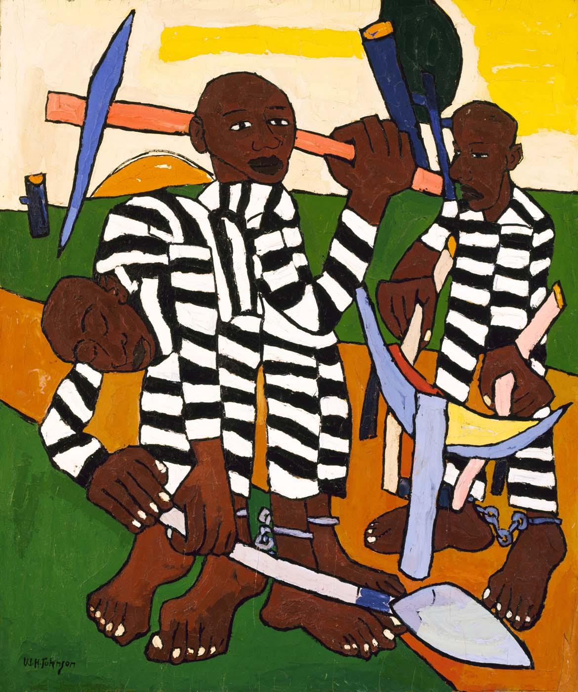 "William Johnson, ""Chain Gang"""