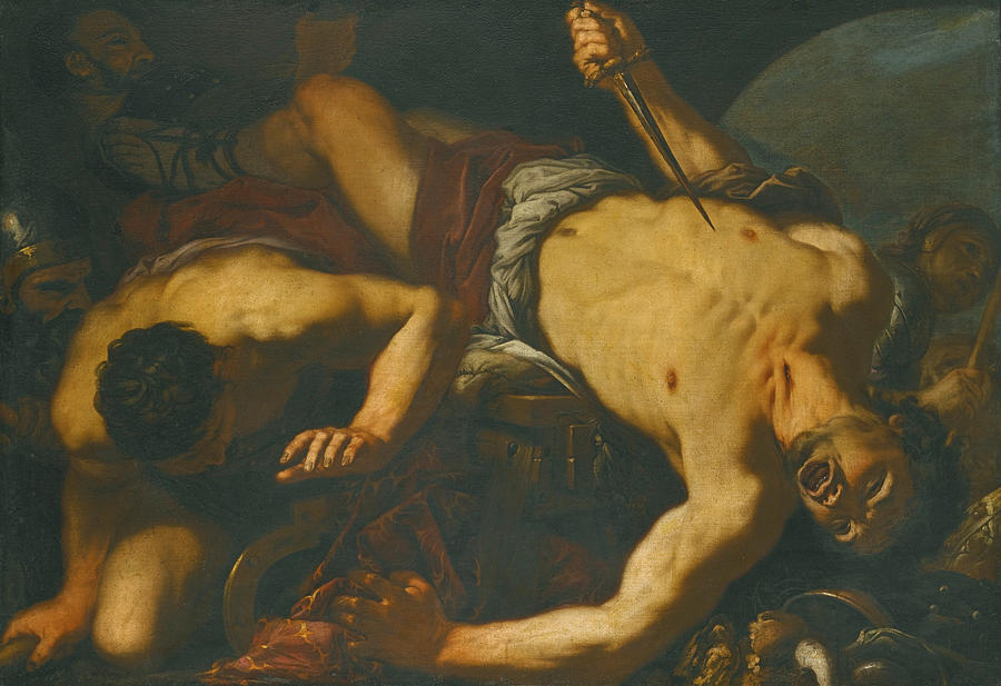 "Antonio Zanchi, ""The Death of Ajax"""