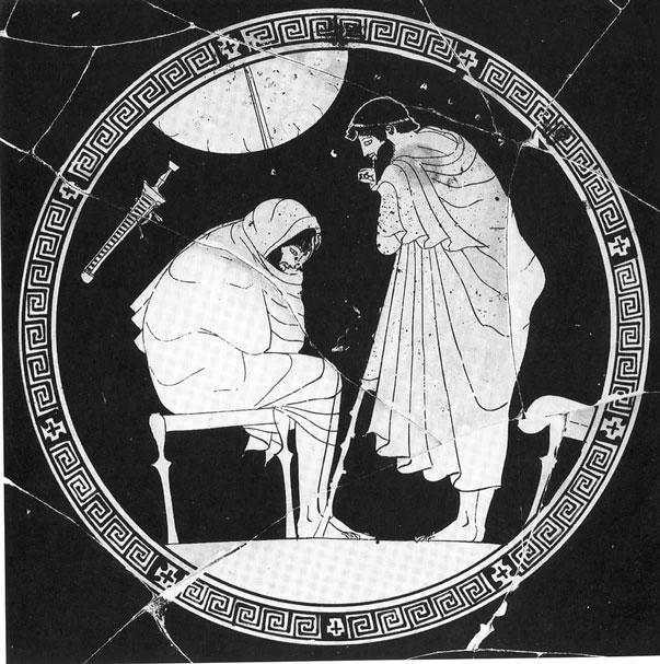 Akilleus and Odysseus