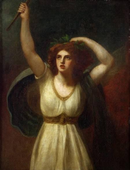 """Geroge Romney, """"Lady Hamilton as Cassandra """""""