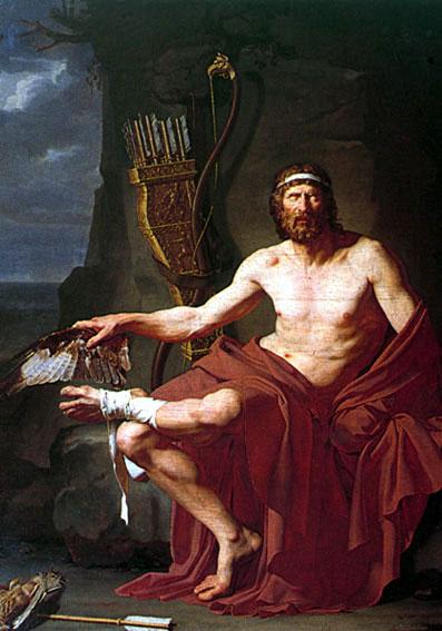 """Jean Germain Drouais, """"Philoctetes"""""""