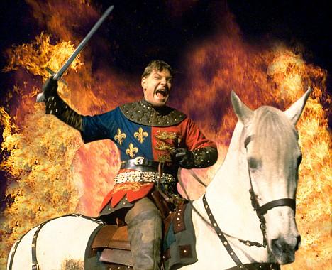 Kenneth Branagh as Henry V